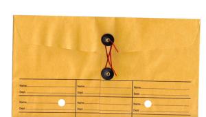 inter-office memo envelope
